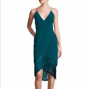 Nicholas fringe dress. Size 6.
